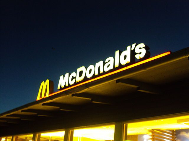McDonald's a panorama d'Italia