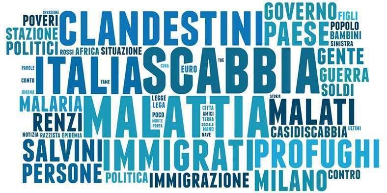 Migranti: sui social percepiti come un rischio per la salute