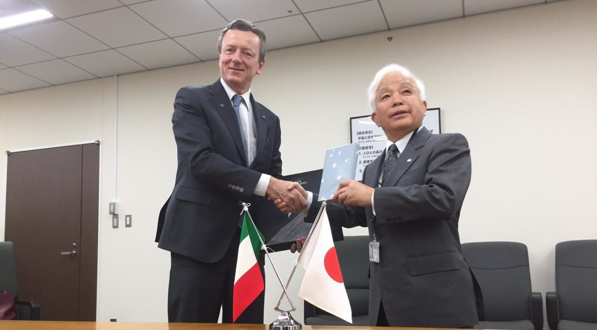 Missione ASI a Tokio