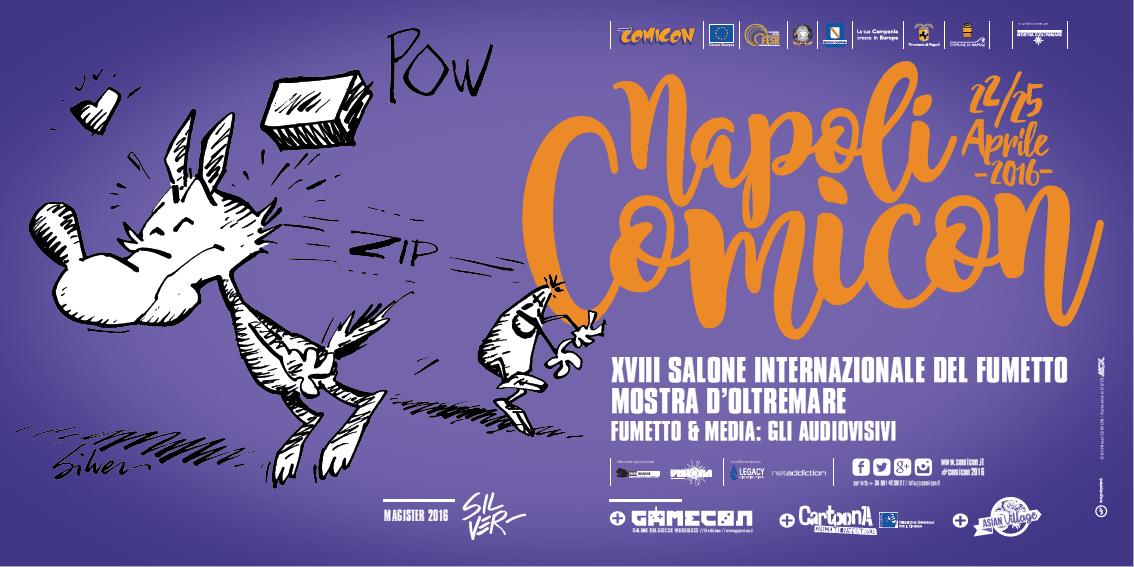 Napoli Comicon 2016 : successo preannunciato
