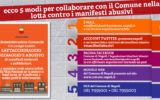 Napoli: comune e cittadini per la lotta al manifesto selvaggio
