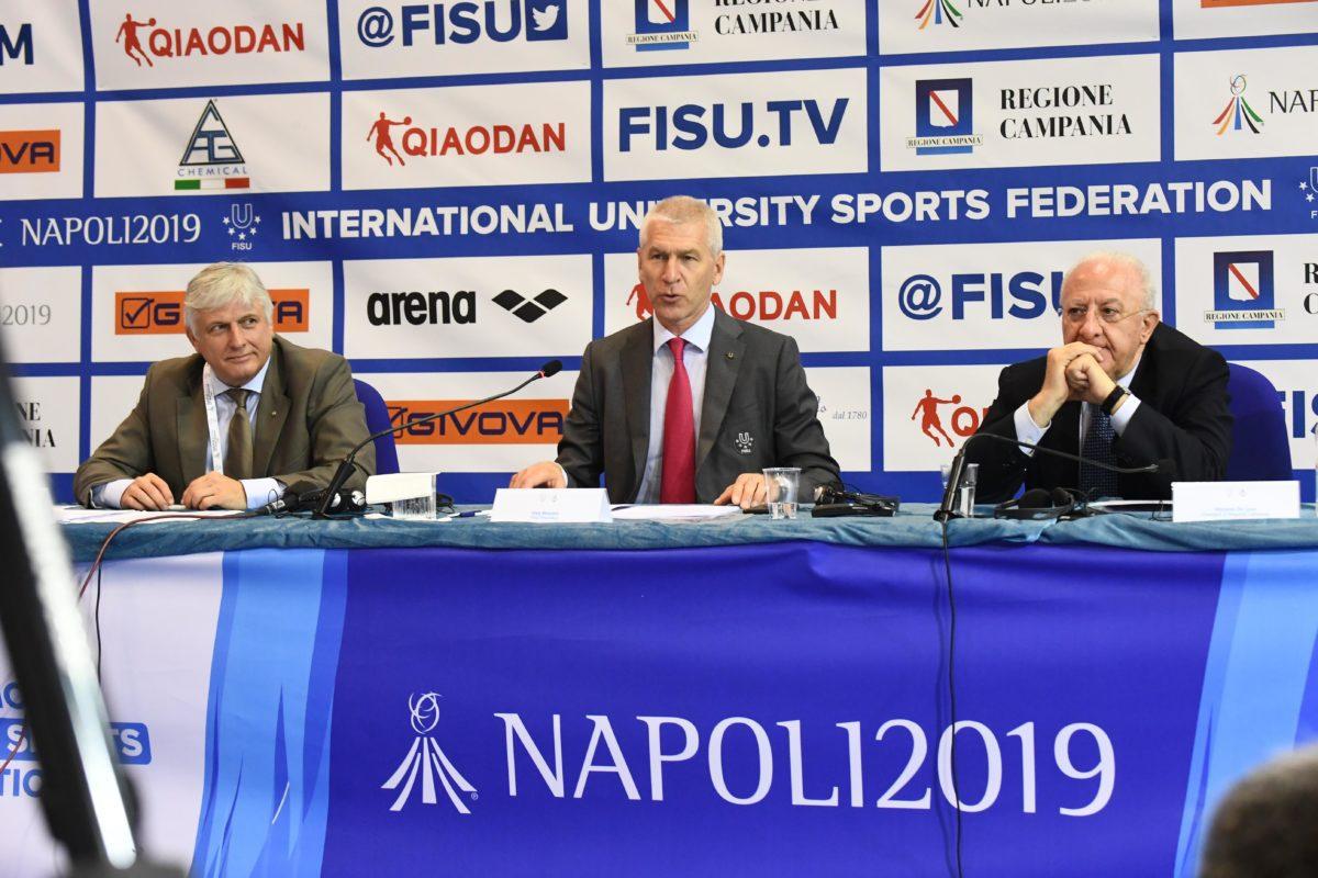 Napoli: FISU ha presentato stamattina la Trentesima Summer Universiade