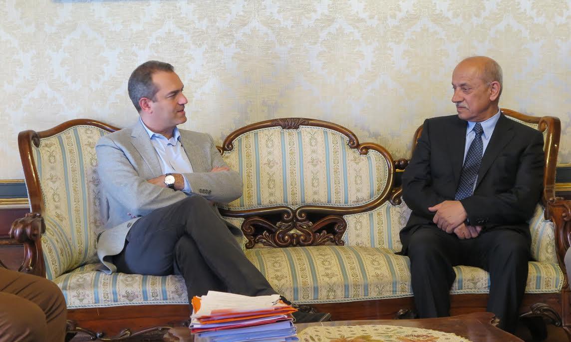 Napoli incontra l'Iraq con il Ministro dei Trasporti