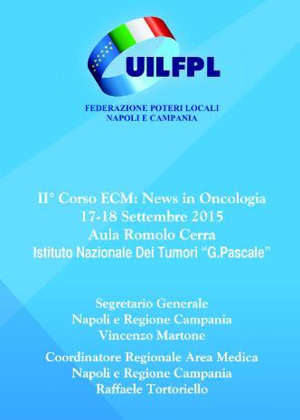 Napoli: News in Oncologia al Pascale