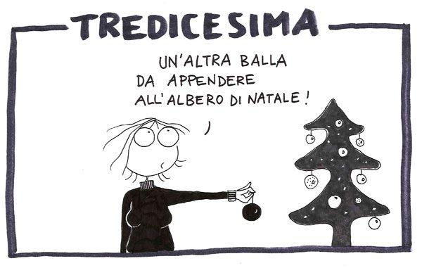 NATALE SENZA TREDICESIMA