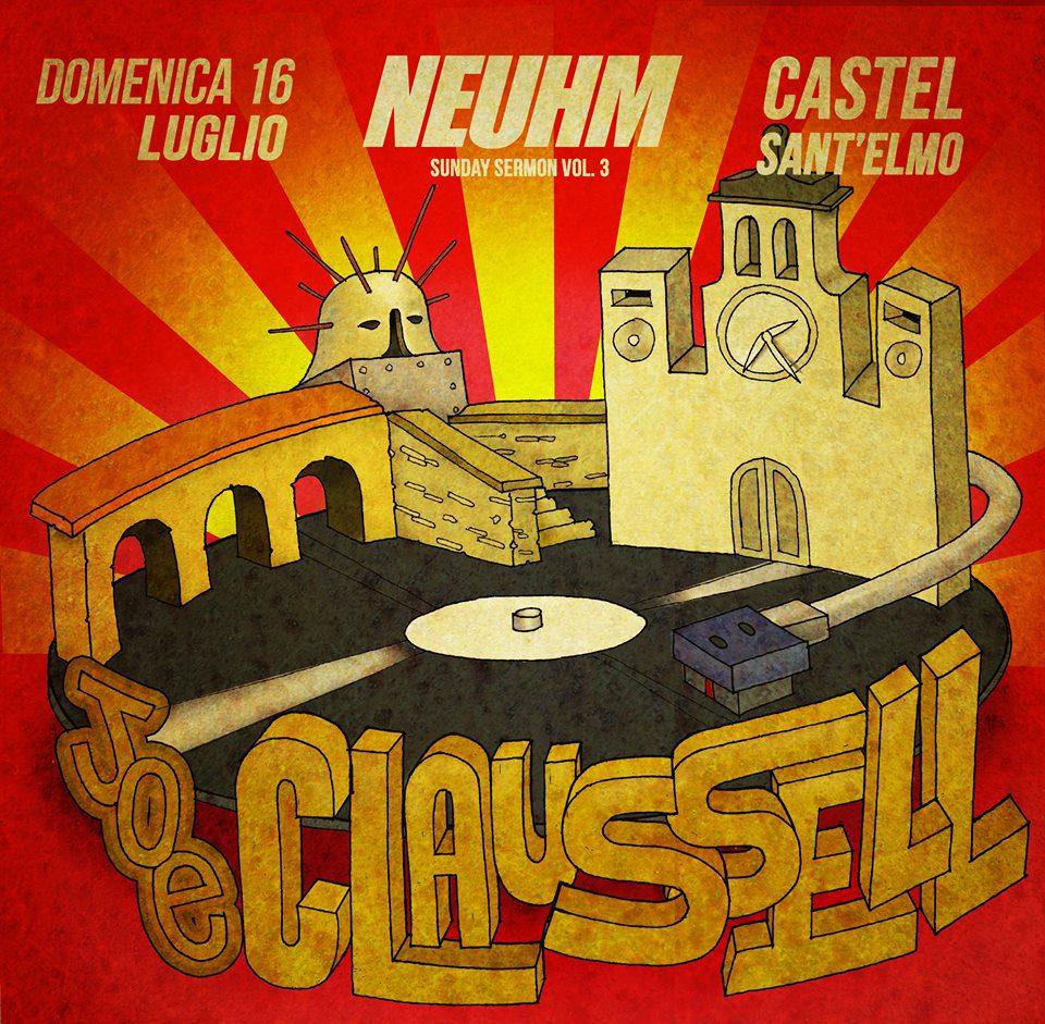 Nehum: Joe Claussell a Castel Sant'Elmo