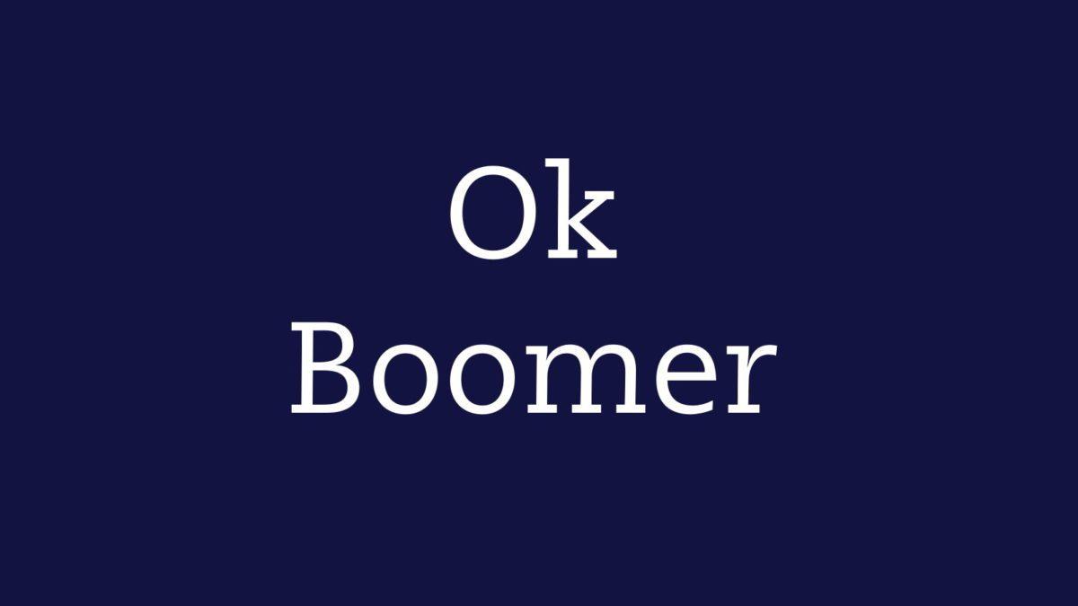 Ok boomer: tra meme