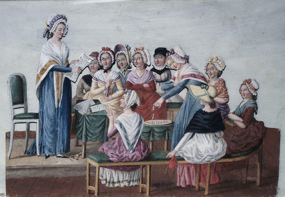 Olimpe de Gouges: i diritti della donna e della cittadina