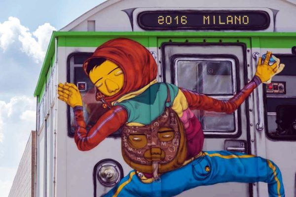 Osgemeos e la street art a Milano