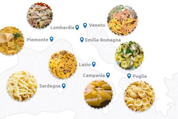 Pasta italiana: alla scoperta delle specialità regionali