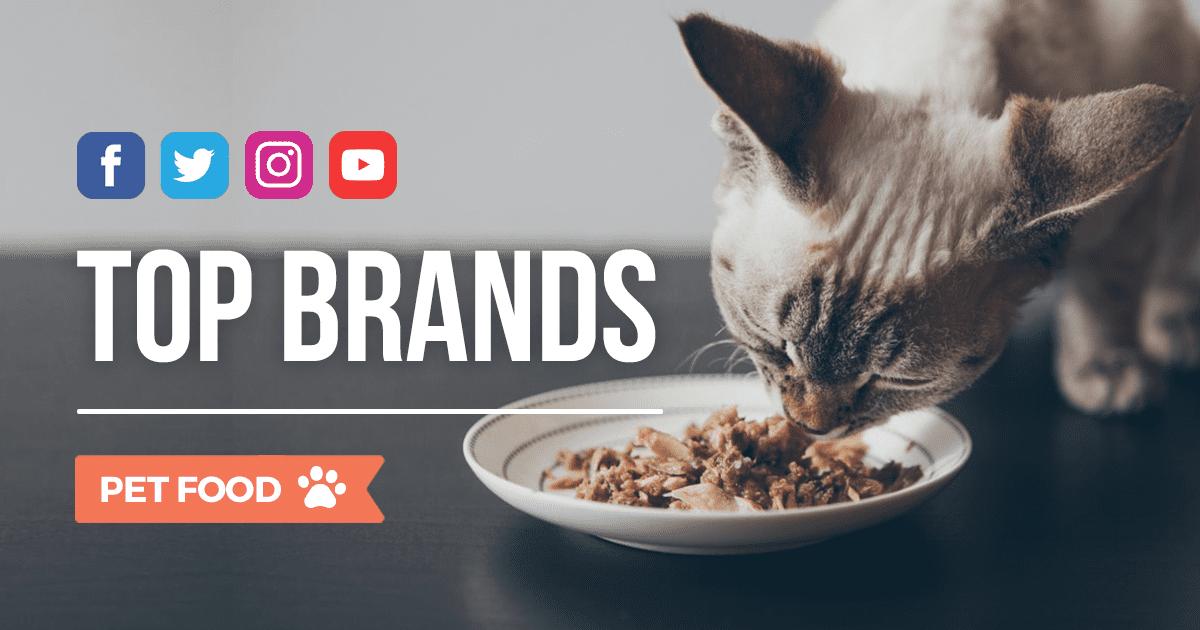 Pet Food: i brand più social