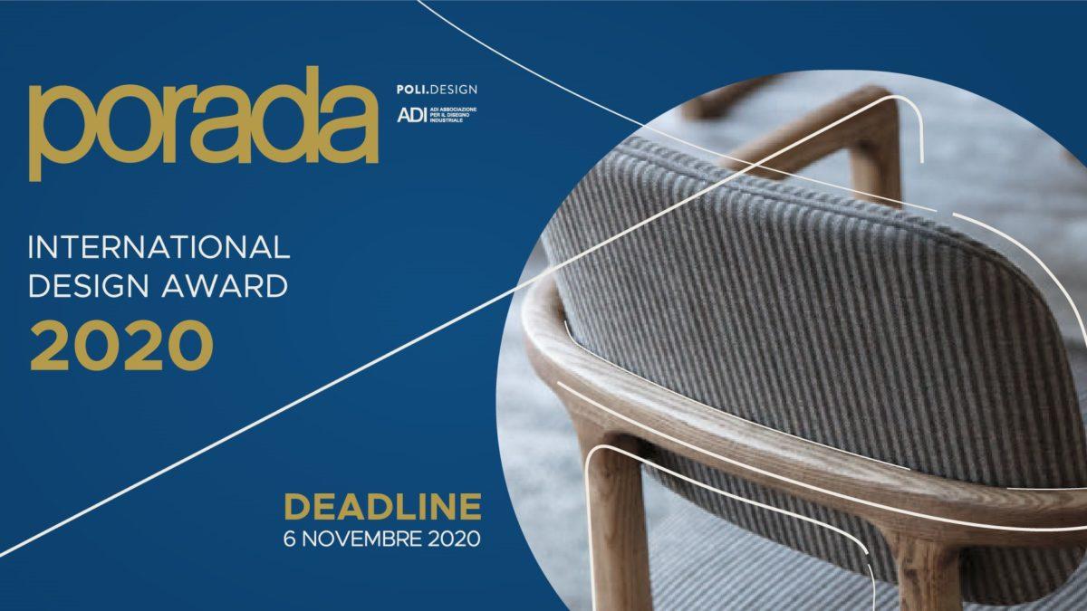 Porada International Design award 2020