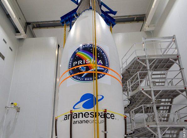 Prisma pronto per la rampa di lancio