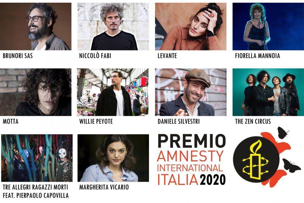 Quale sarà la canzone dell'anno sui diritti umani di Amnesty?