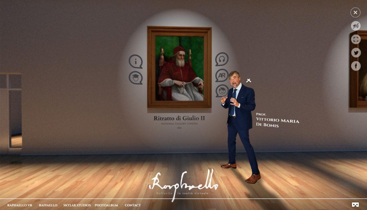 Raffaello VR: rivivere le opere dell'artista anche in quarantena