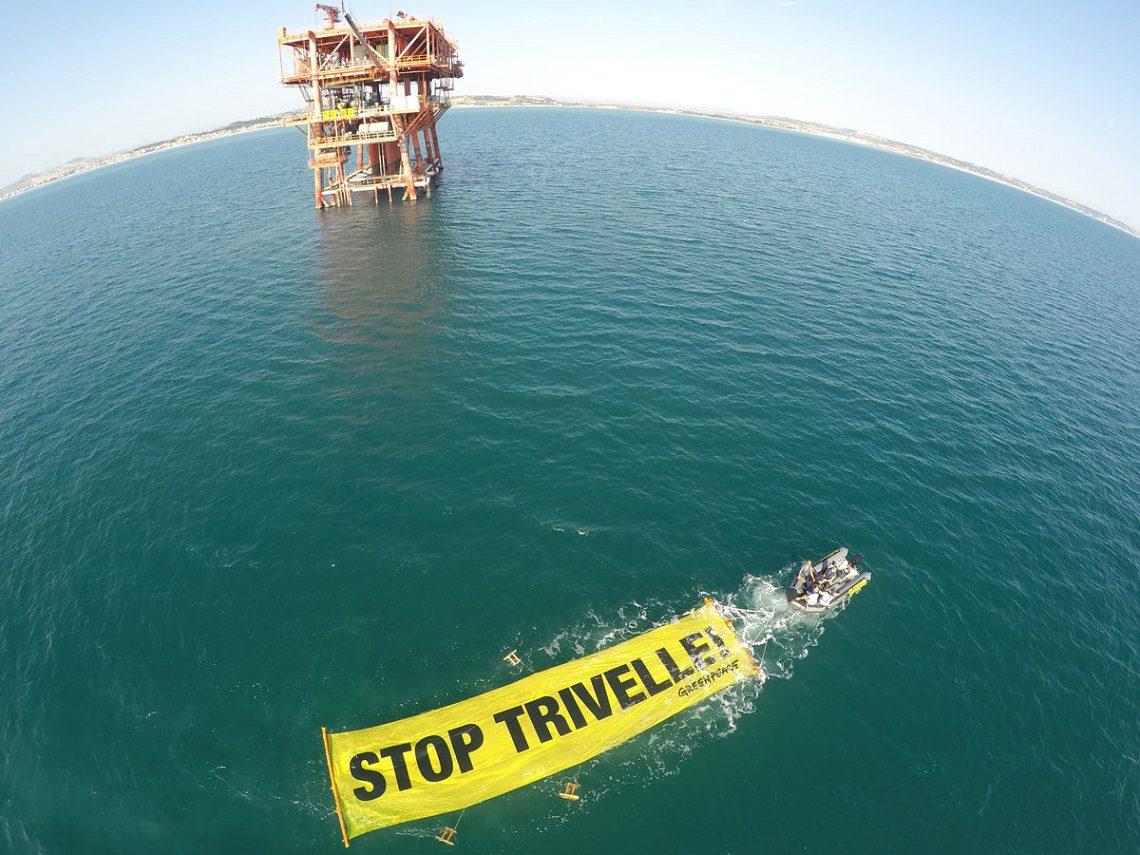 Referendum trivelle: Greenpeace contro il governo
