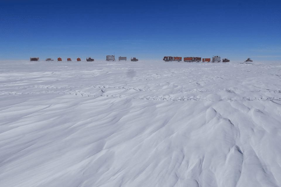 Rientrata alla stazione Concordia la traversa EAIIST