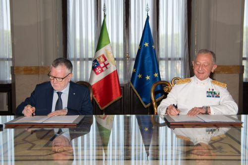 Rinnovato l'accordo tra la Marina Militare e il CNR