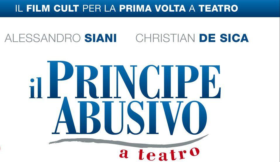 """Ritorna """"Il principe abusivo"""" in versione teatrale"""