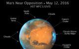 Ritratto di pianeta in opposizione