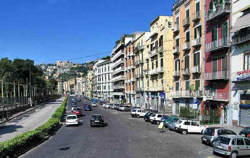 Riviera di Chiaia: la Giunta approva il progetto di riqualificazione