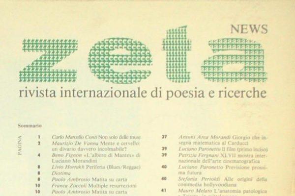 Riviste letterarie: intervista a Carlo Marcello Conti