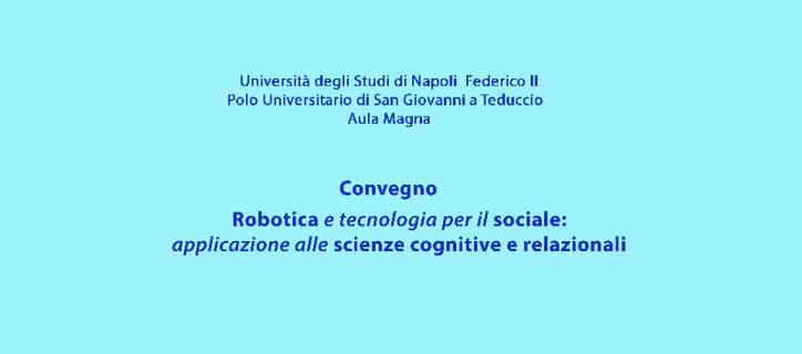 Robotica e tecnologia per il sociale