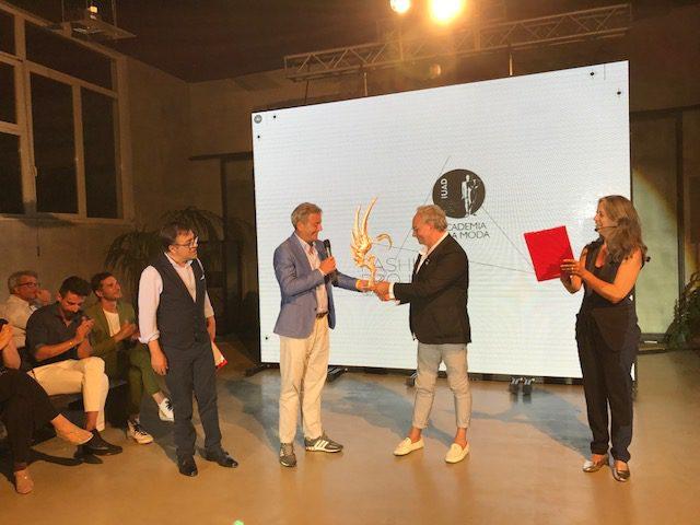 Rocco Barocco all'Accademia della moda di Napoli