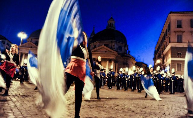 Rome New Year's Day Parade 2017
