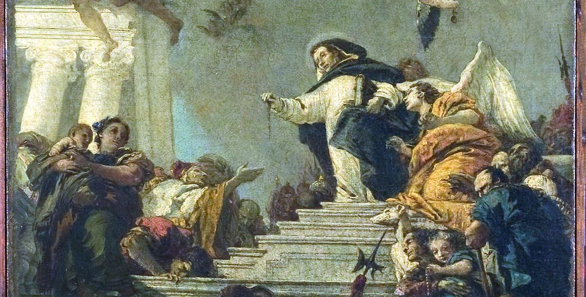 """Il restauro del """"San Domenico che istituisce il Rosario"""""""
