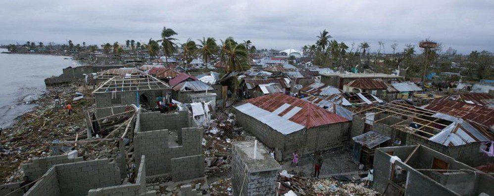 I danni dell'uragano Matthew