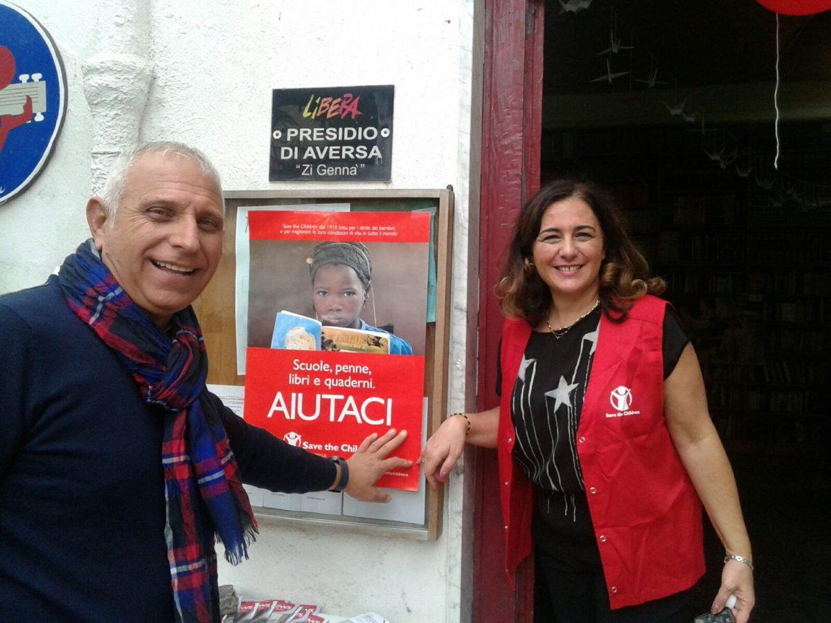 Save the Children sbarca ad Aversa