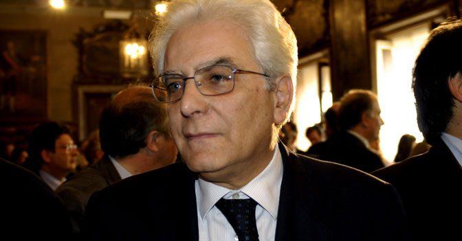 SERGIO MATTARELLA E' IL XII PRESIDENTE DELLA REPUBBLICA ITALIANA