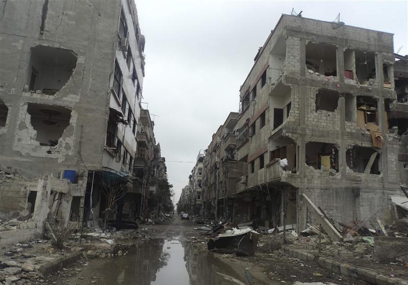 Siria: fame e insicurezza per i bambini di Douma
