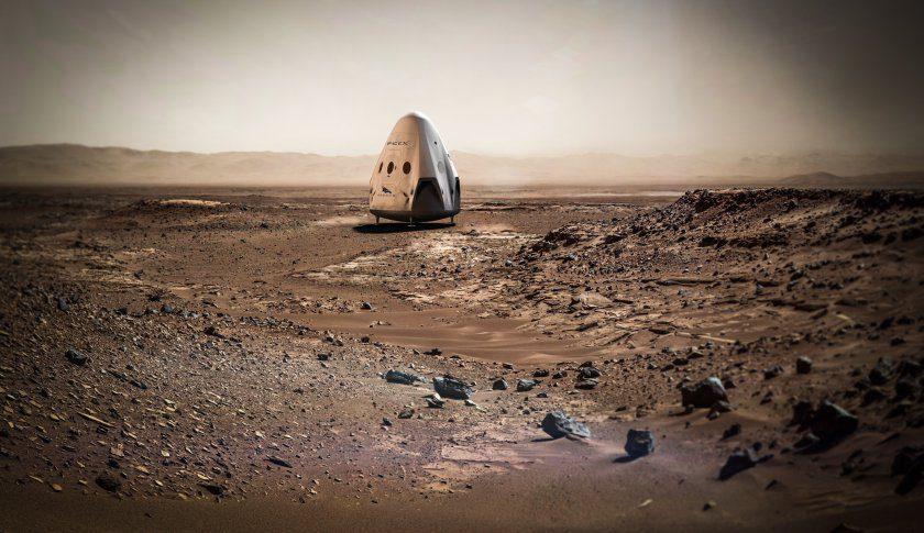 SpaceX e NASA insieme su Marte