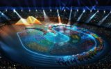 Spettacolo al San Paolo per l'apertura delle Universiadi 2019