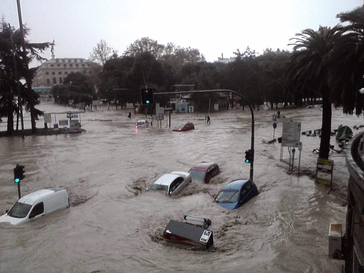 Inondazione in Italia