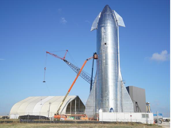 Starship: tra sei mesi il primo volo orbitale
