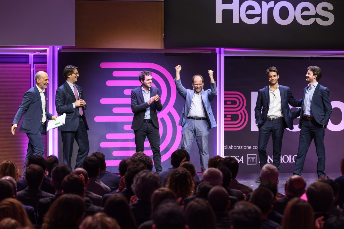 Startup competition B Heroes: vince Enerbrain