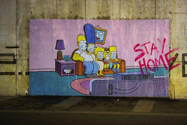 Street Art per combattere il COVID-19