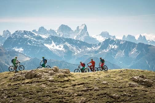 Sulle Alpi della Val Gardena con la eBike