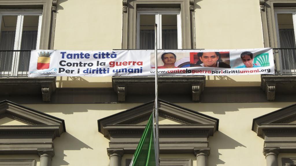 Tante città contro la Guerra e per i diritti umani