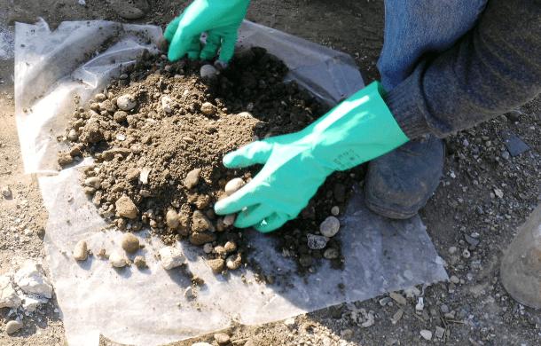 Terre e rocce da scavo: dal campionamento al dato analitico