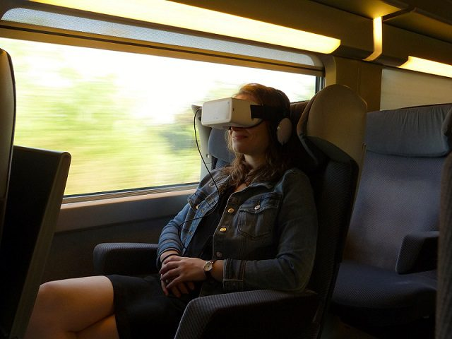 TGV Italia-Francia: Cinema immersivo a bordo