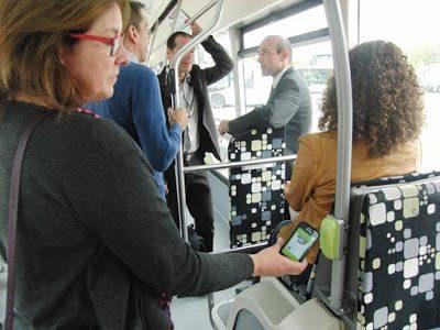 Trasporto pubblico: in Francia si paga con lo smartphone