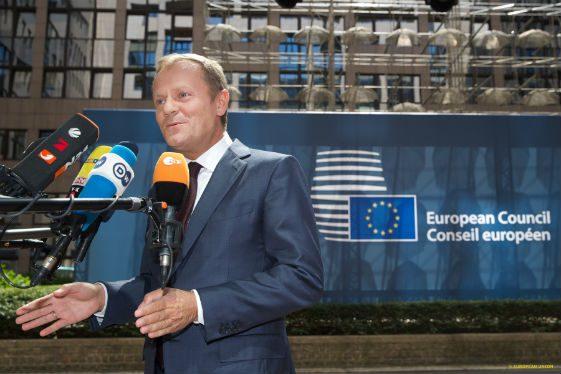 Tusk fa il punto sulla politica migratoria dell'UE