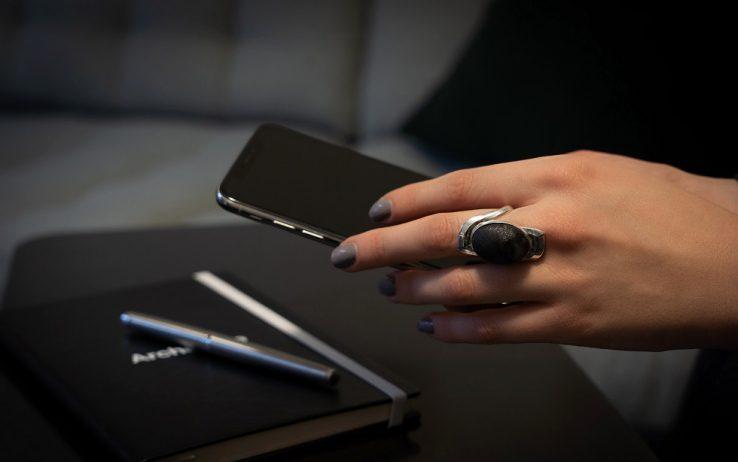 Un anello contro i furti di impronte digitali