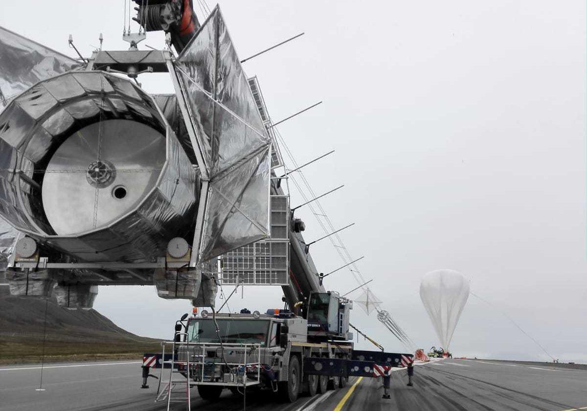 Un esperimento... stratosferico