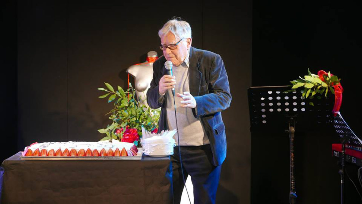Una mostra di Lamberto Pignotti per i suoi 90 anni