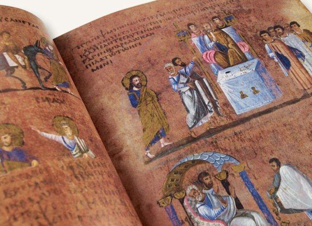 Una raccolta fondi per il Codex Purpureus Rossanensis
